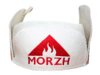 Headgear for tent sauna MORZH  1