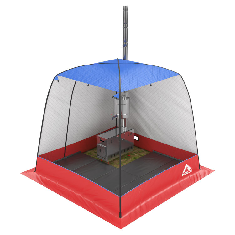 Warm Floor for MORZH Tents